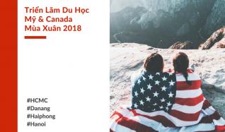 [HCMC 17.3] Triển Lãm Du Học Mỹ & Canada mùa Xuân 2018