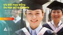 ƯU ĐÃI 30 SUẤT HỌC BỔNG MỸ & CANADA LÊN ĐẾN 70% TỪ AAE | 10/5 - 10/6/2019